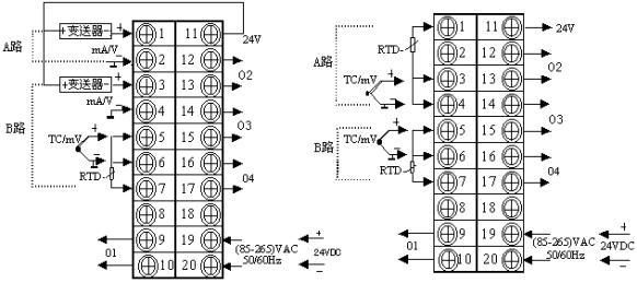 脉冲控制器接线图