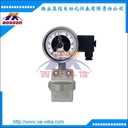 DPGS43.100,电接点压差表,WIKA电接点差压表